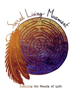Sacred Living Movement Logo